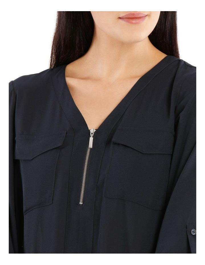 Zip Front Shirt image 4