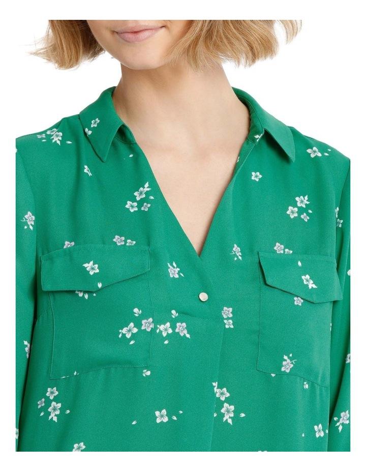 Button Detail Roll Cuff Shirt image 4