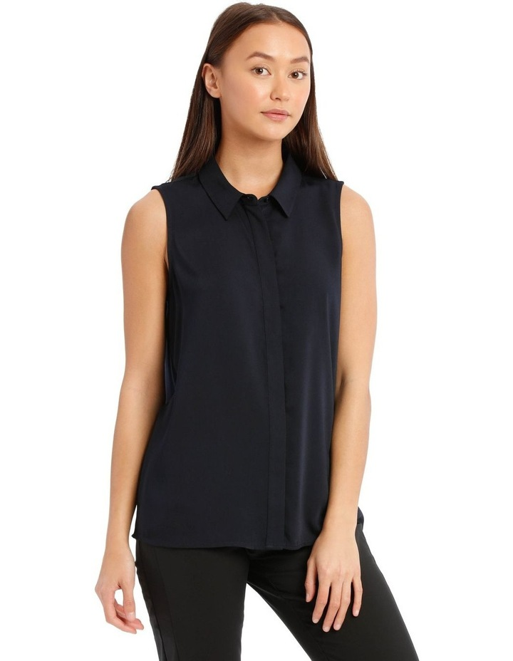 Sleeveless Collared Shirt image 2
