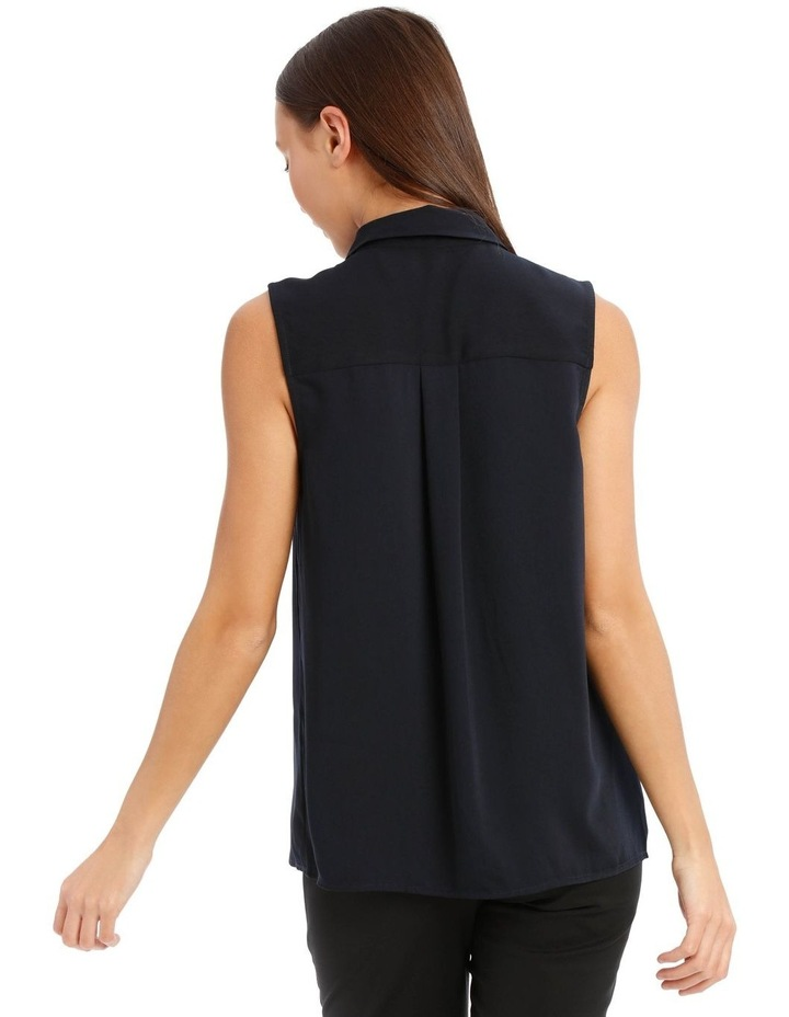 Sleeveless Collared Shirt image 3