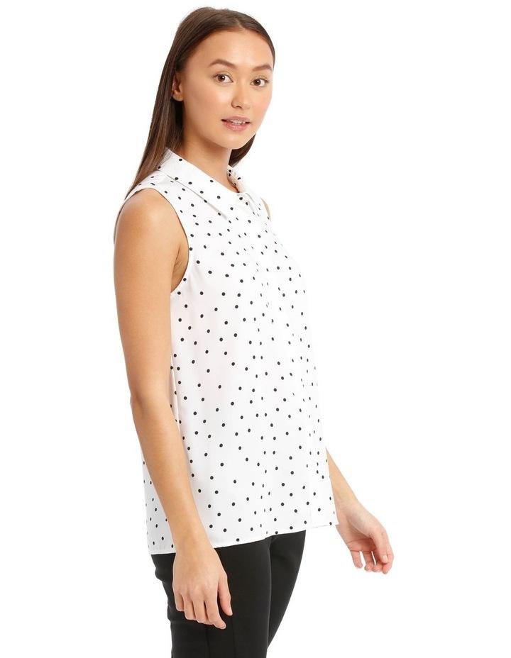 Sleeveless Collared Shirt image 2