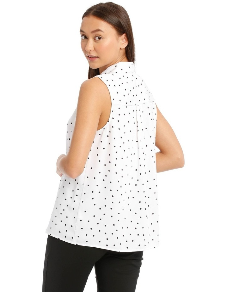 Sleeveless Collared Shirt image 3