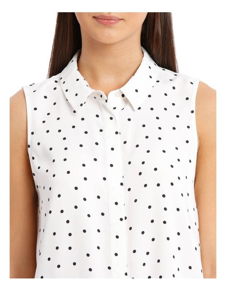 Sleeveless Collared Shirt image 4