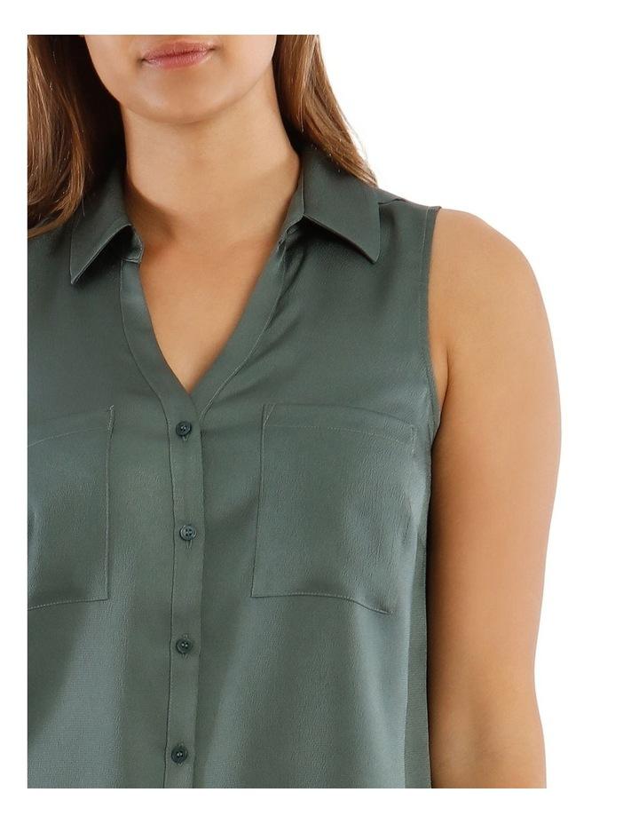 Sleeveless Utility Shirt image 4