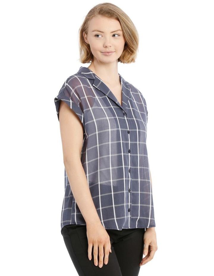 Open Collar Short Sleeve Shirt image 2
