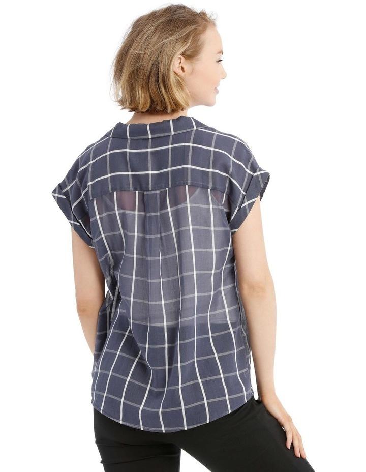 Open Collar Short Sleeve Shirt image 3