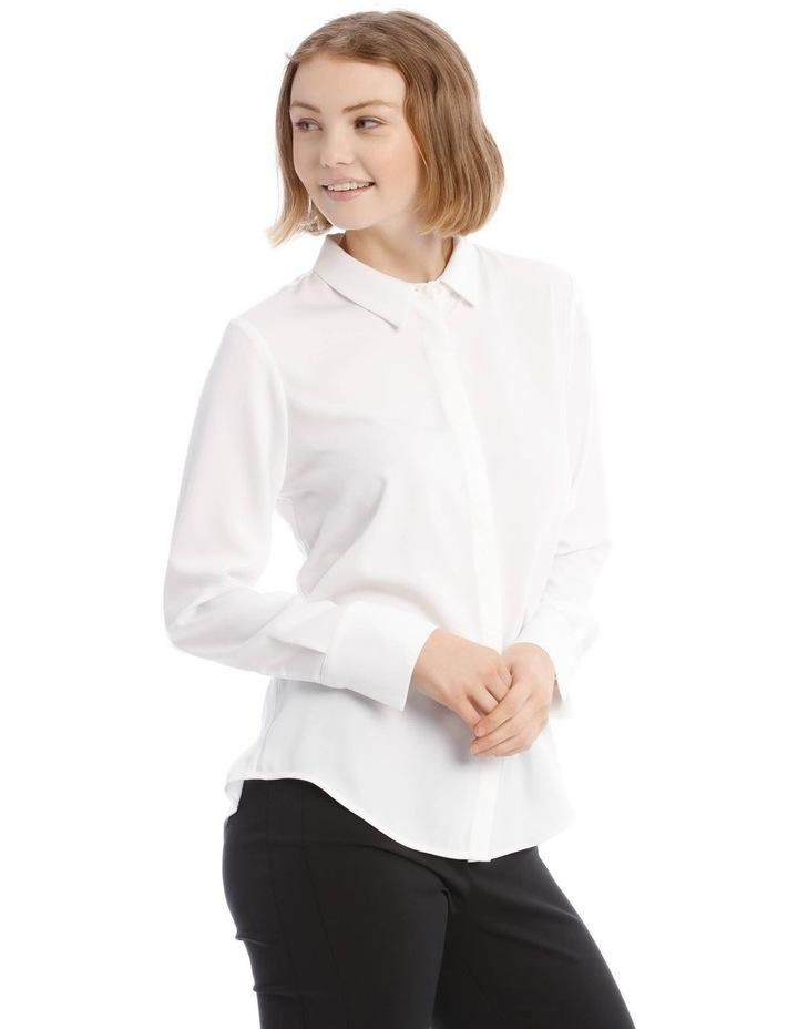 White Work Shirt image 2