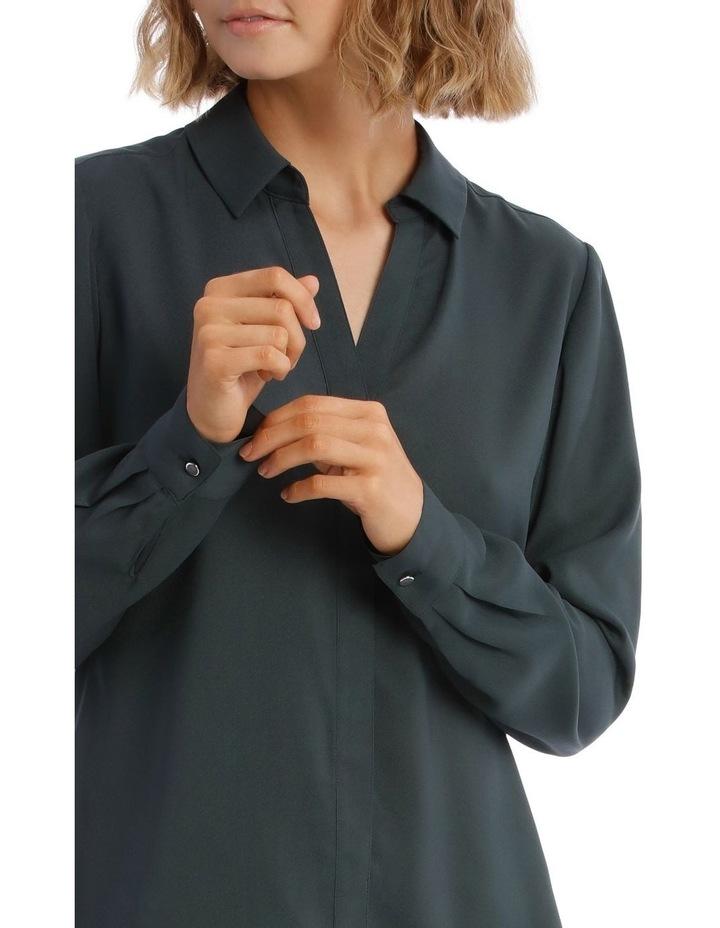 Open Placket Long Sleeve Shirt image 4