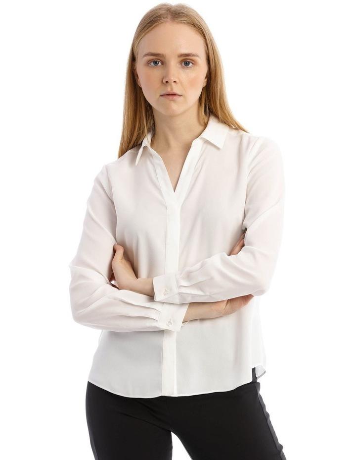 Open Placket Long Sleeve Shirt image 1