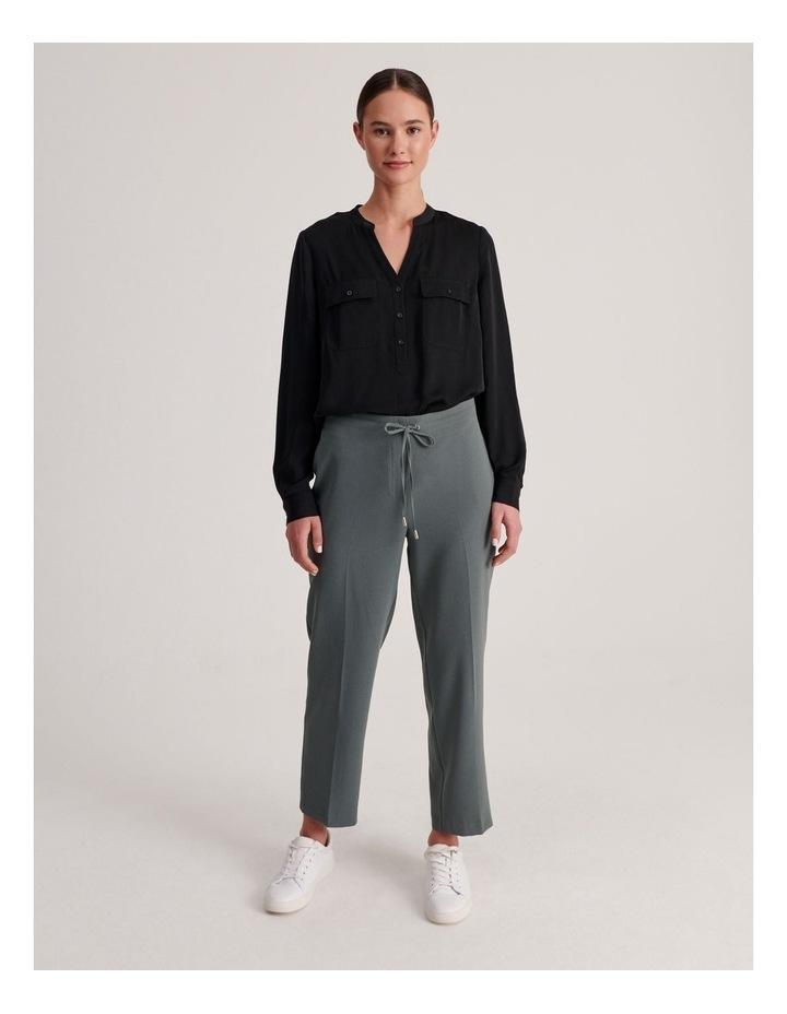 Two Pocket Shirt in Black image 4
