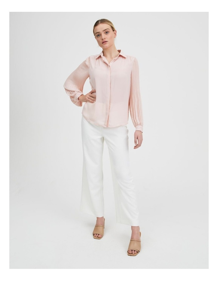 Blouson Pleat Sleeve Shirt image 1