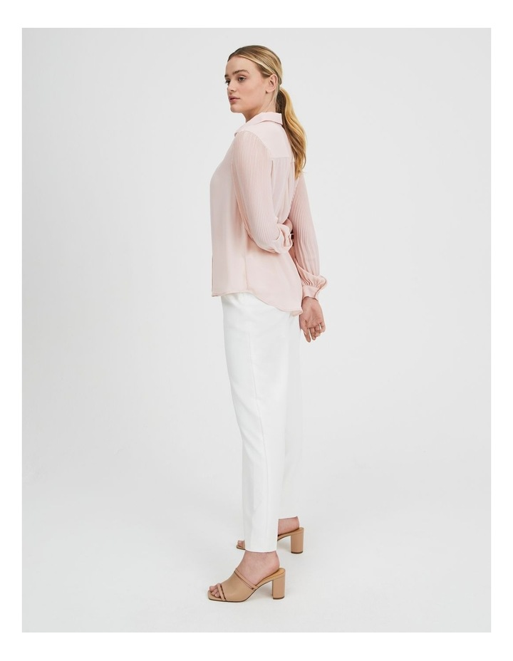 Blouson Pleat Sleeve Shirt image 2