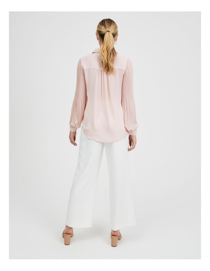 Blouson Pleat Sleeve Shirt image 3
