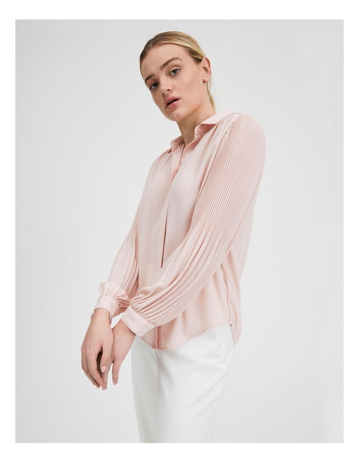 Blouson Pleat Sleeve Shirt image 5