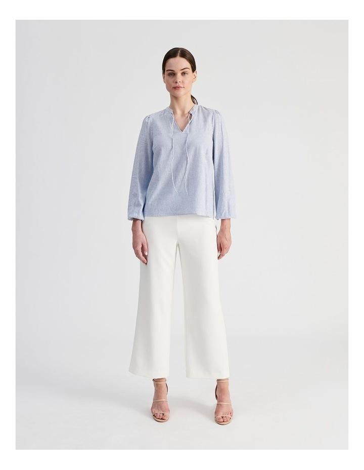 Linen Blend Stripe Shirt image 7