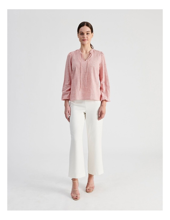 Linen Blend Stripe Shirt image 6