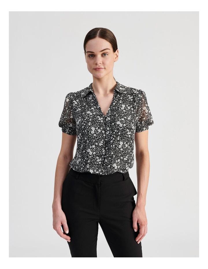 Puff Sleeve Button Through Shirt image 2