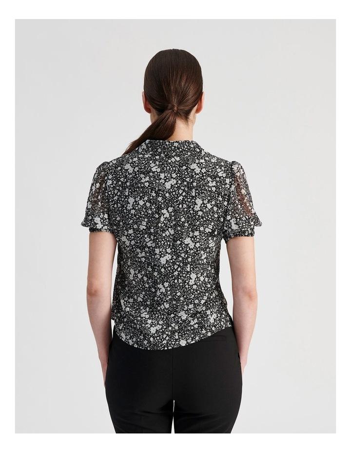 Puff Sleeve Button Through Shirt image 4