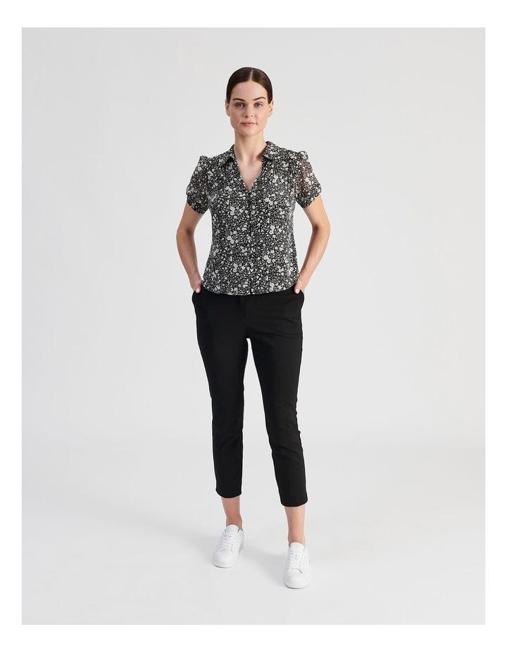 Puff Sleeve Button Through Shirt image 5