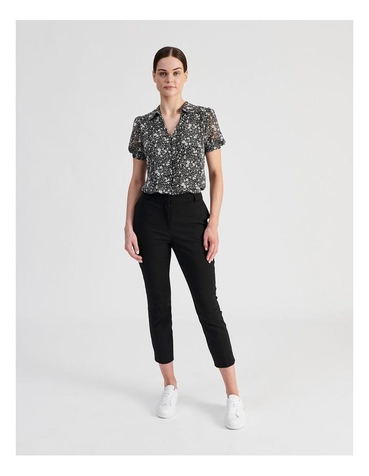 Puff Sleeve Button Through Shirt image 6