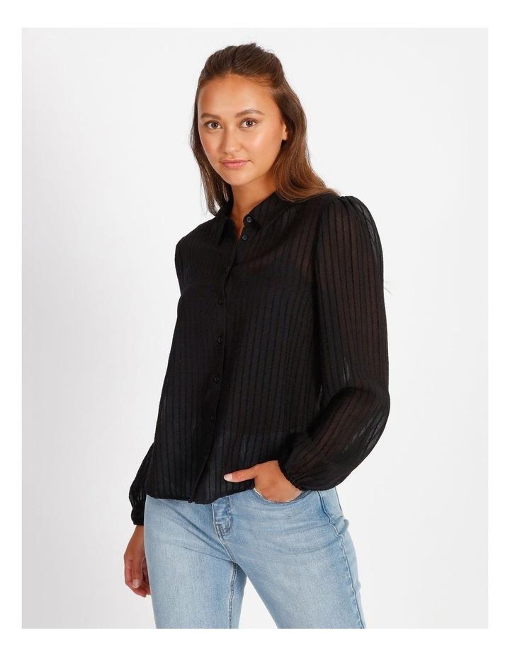 Textured Stripe Shirt image 1