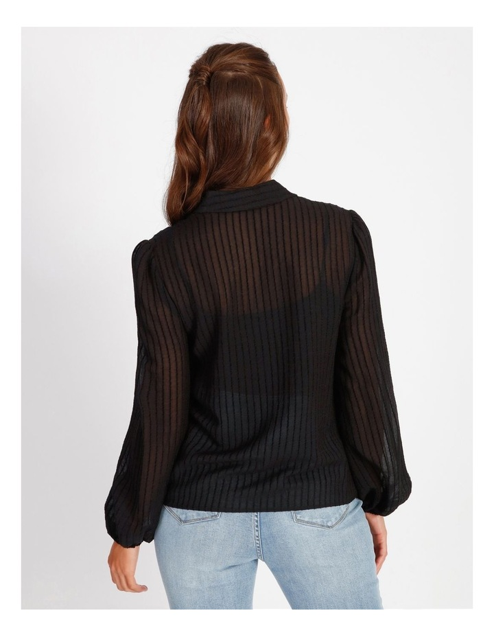 Textured Stripe Shirt image 3
