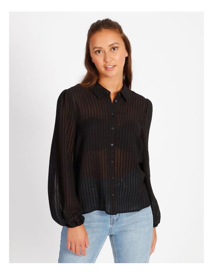 Textured Stripe Shirt image 4