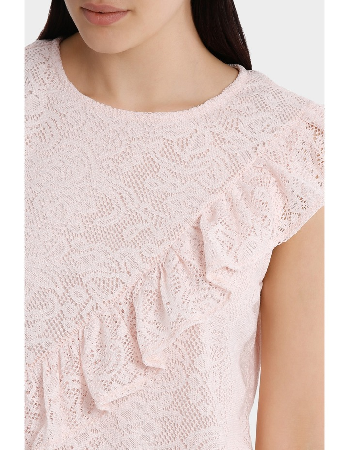 frill front lace top image 4