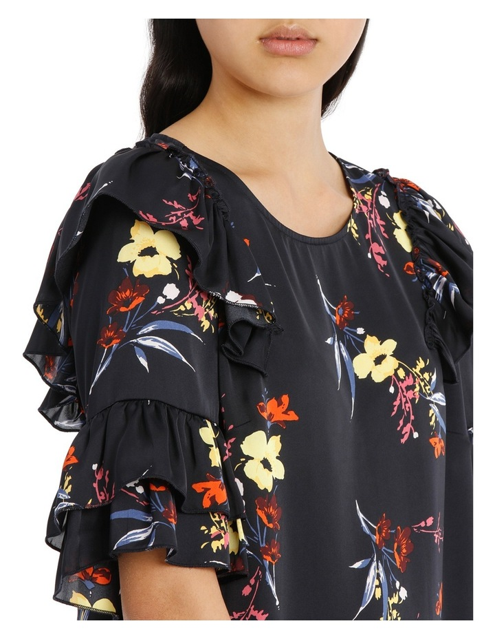 Frilly Print Top - Sunlit Floral image 4