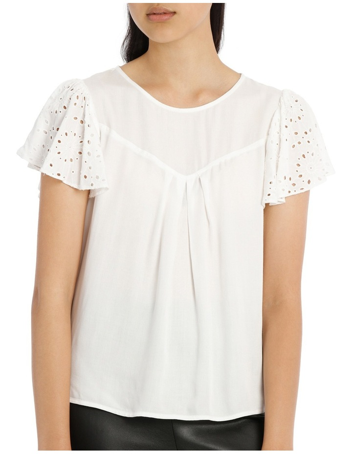 Lace Top - White image 1