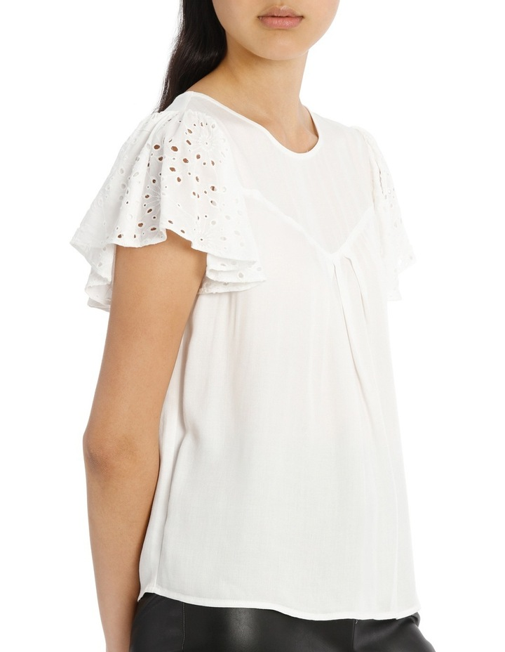 Lace Top - White image 2