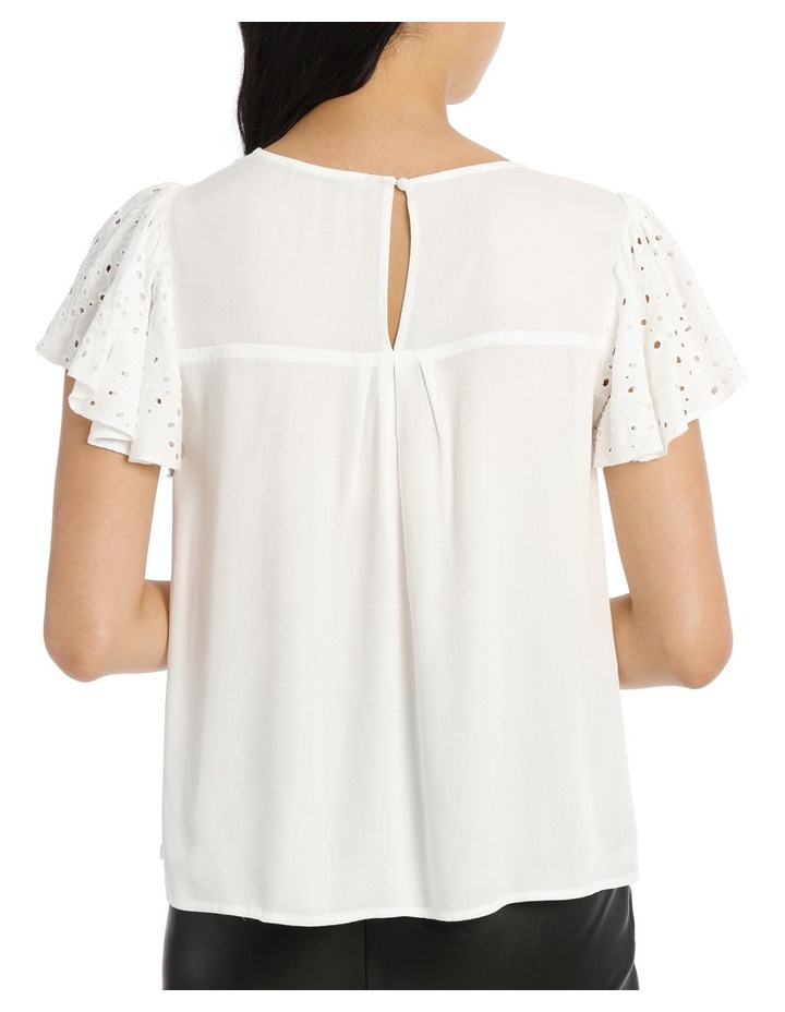 Lace Top - White image 3