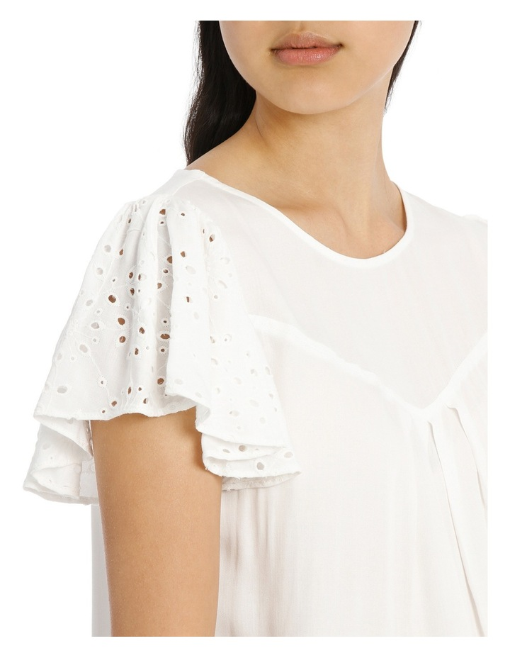 Lace Top - White image 4