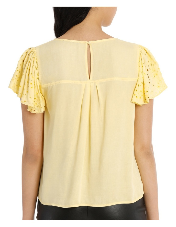 Lace Top - Lemon image 3