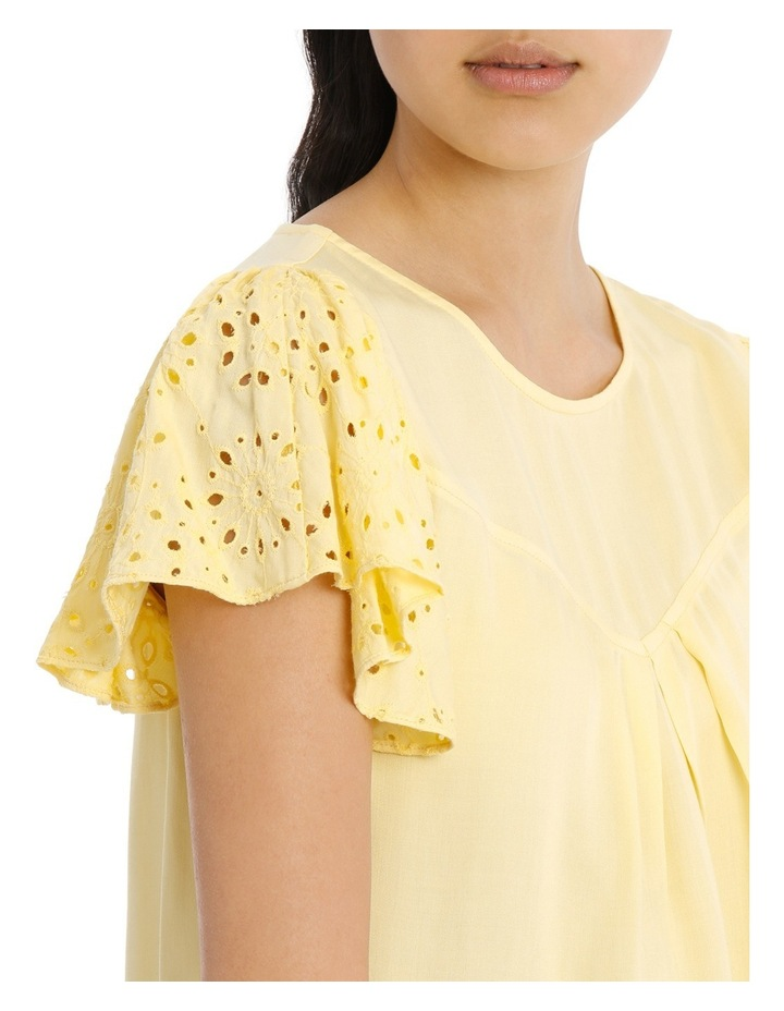 Lace Top - Lemon image 4