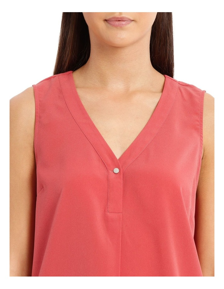 Button Detail Sleeveless Top image 4