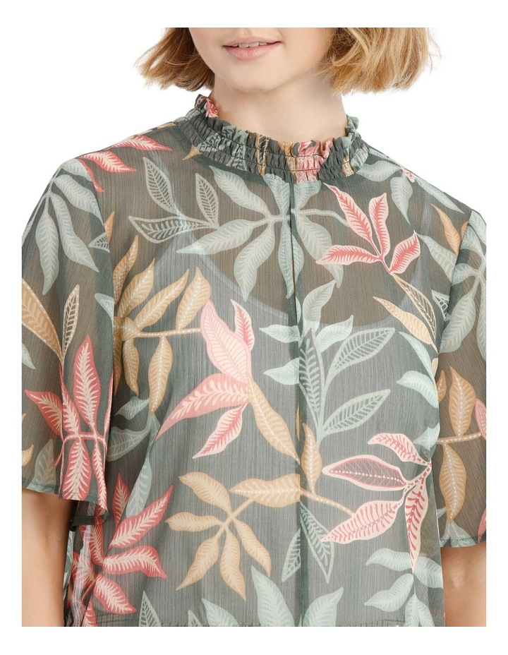 High Neck Wide Sleeve Top image 4