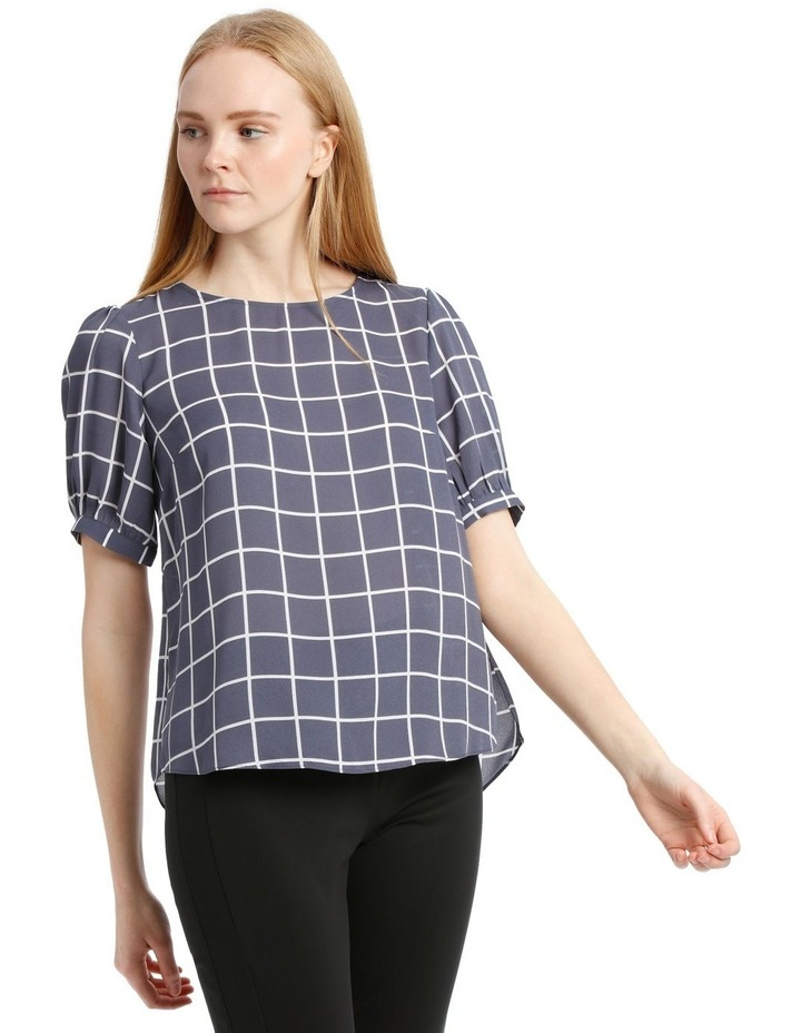 Puff Sleeve Shell Top image 2