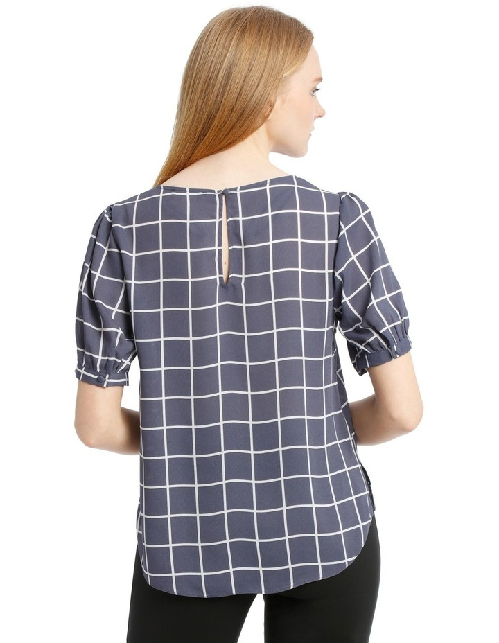 Puff Sleeve Shell Top image 3
