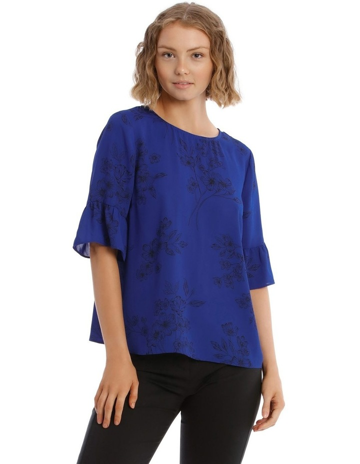 Frill Sleeve Shell Top image 1