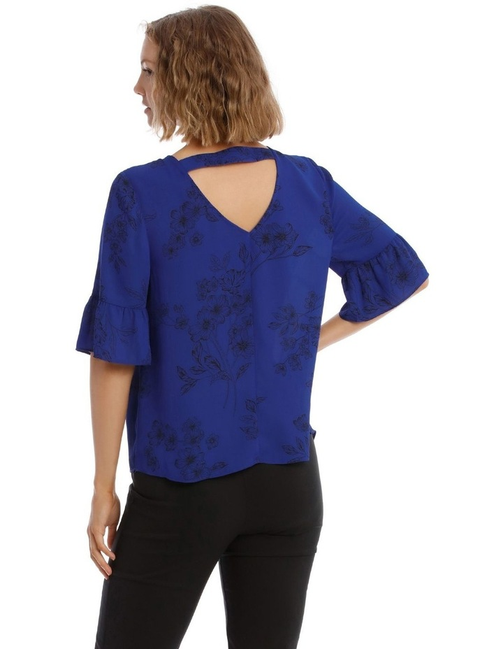 Frill Sleeve Shell Top image 2