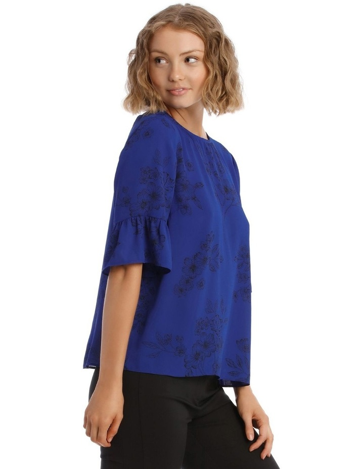 Frill Sleeve Shell Top image 3