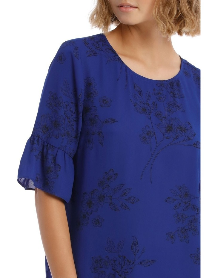 Frill Sleeve Shell Top image 4