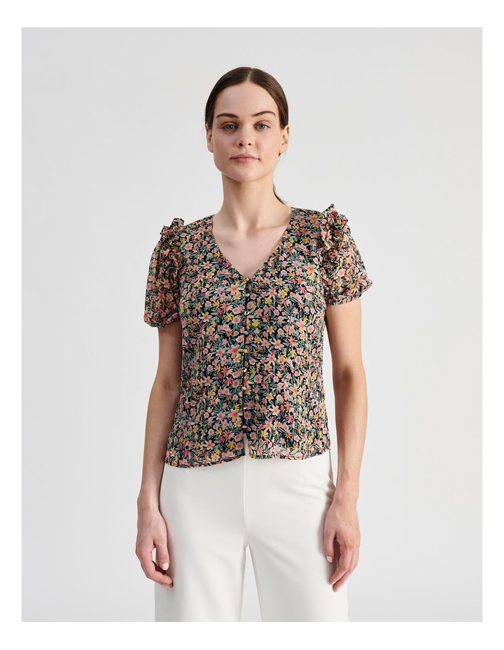 Puff Sleeve Blouse image 1