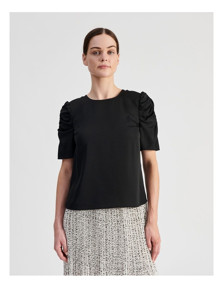 Ruched Sleeve Top image 1