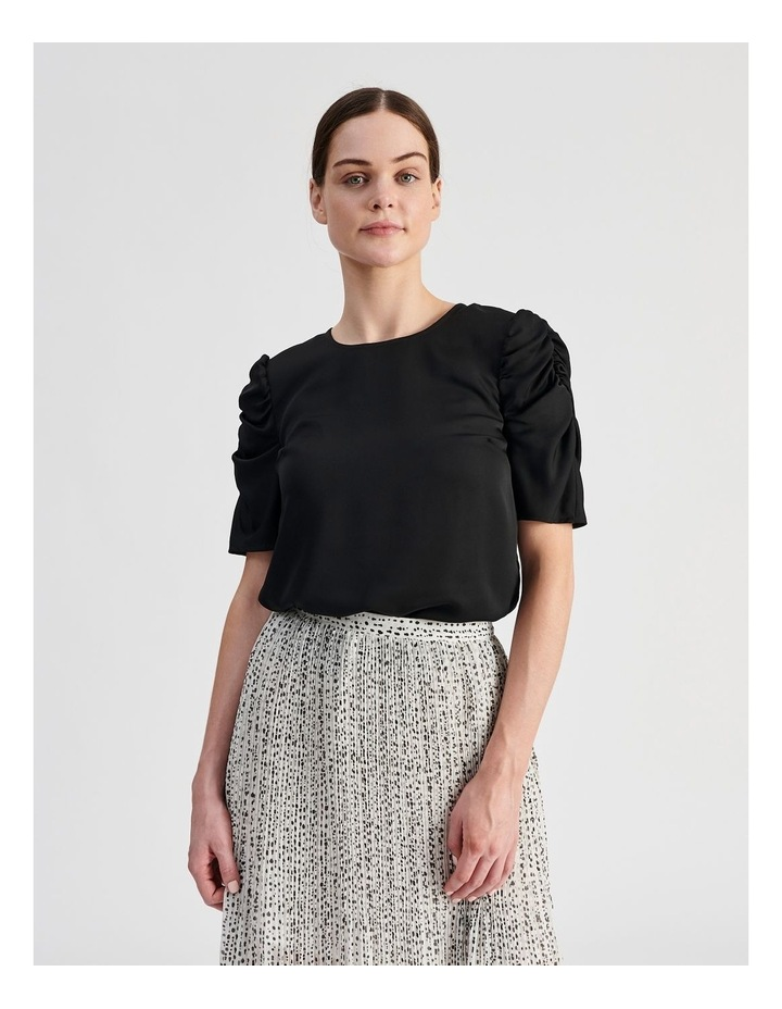 Ruched Sleeve Top image 2