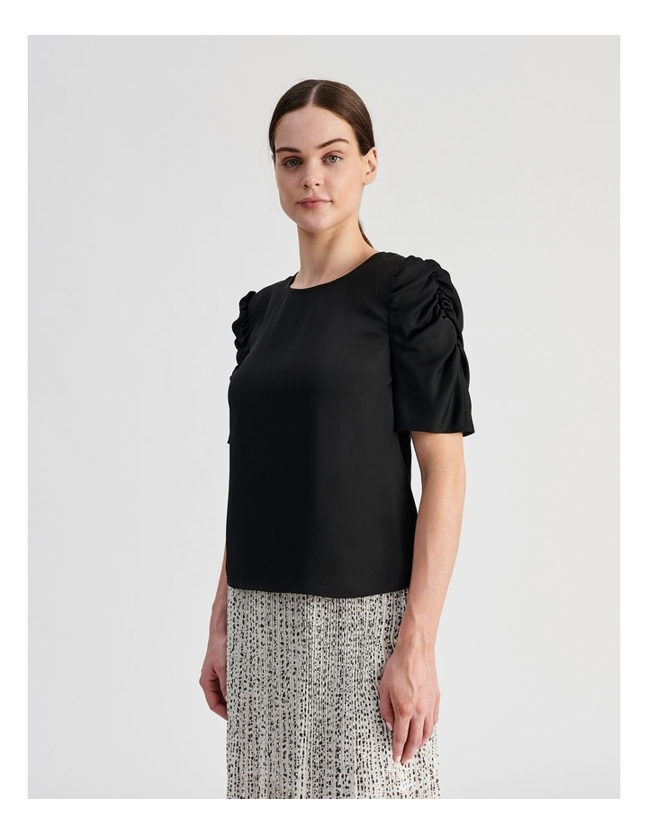 Ruched Sleeve Top image 3
