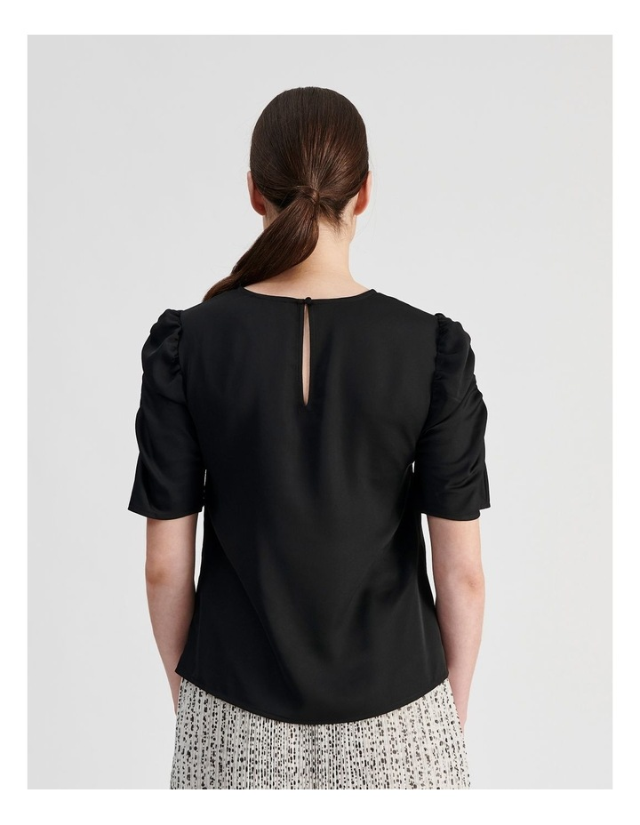 Ruched Sleeve Top image 4