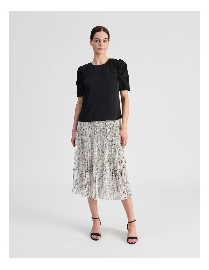 Ruched Sleeve Top image 5
