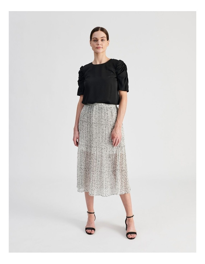 Ruched Sleeve Top image 6